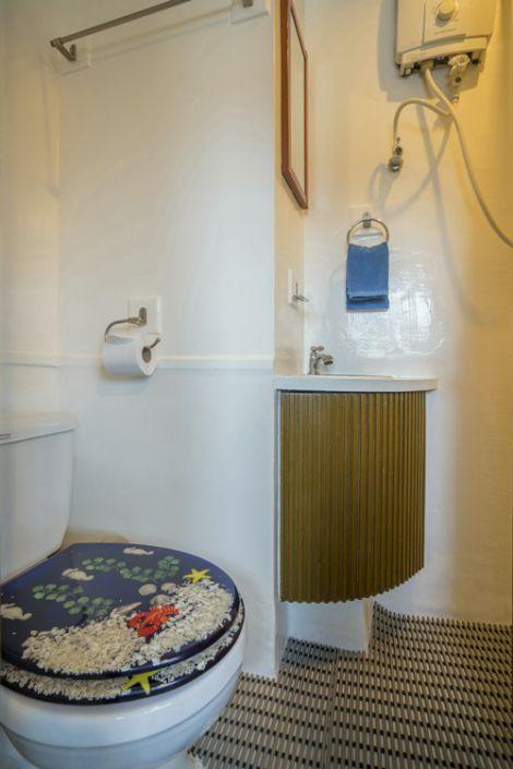 Tauchschiff Pawara Toilette in der Kabine