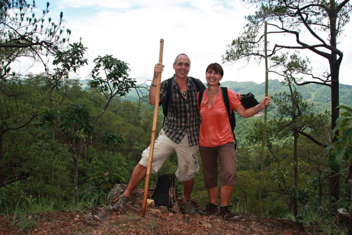 Trekking Tour in Thailands Nationalpark Khao Sok