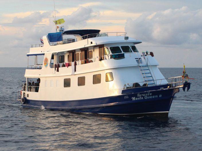 Tauchschiff Manta Queen 2
