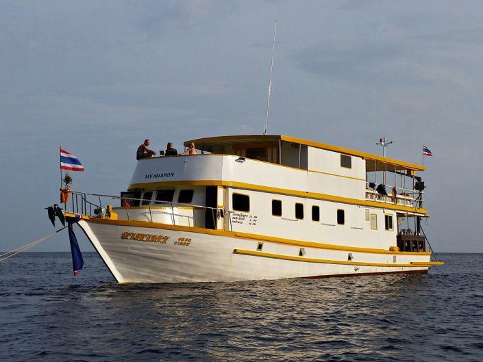 Tauchschiff MV Amapon
