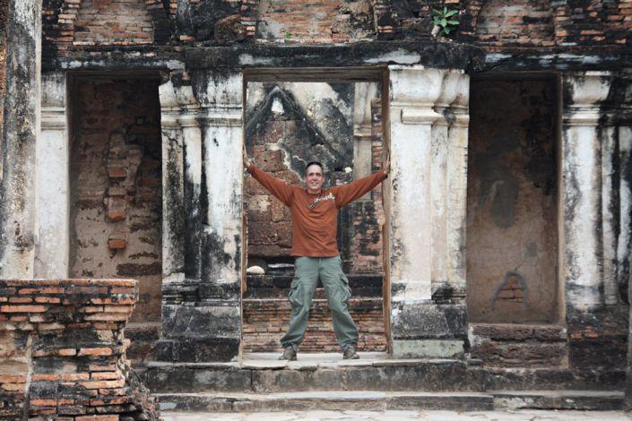 Alte Denkmäler Thailands besichtigen