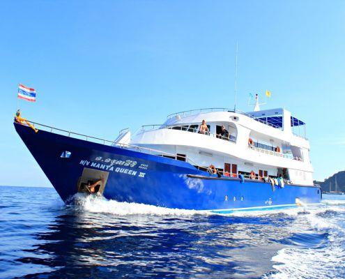 Tauchschiff Manta Queen 3
