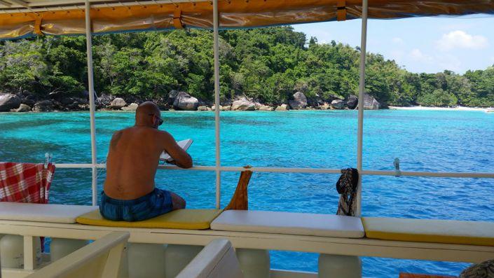 Tauchschiff MV Amapon Relaxen