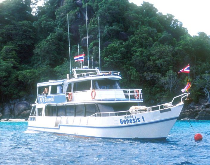Tauchschiff MY Genesis