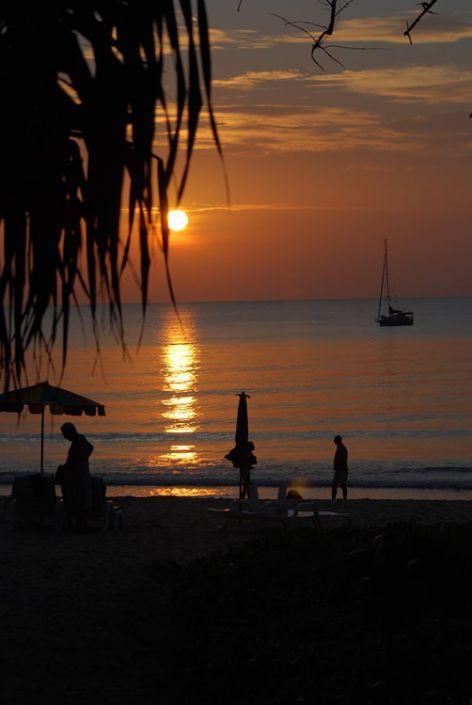 Sonnenuntergänge in Khao Lak
