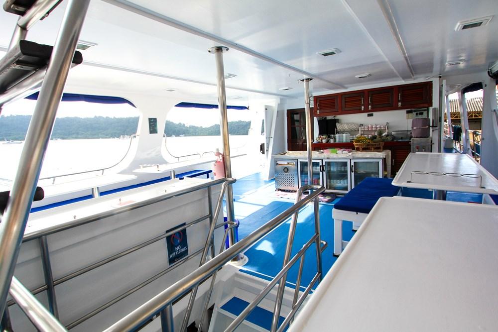 Tauchschiff Manta Queen 1 Essen