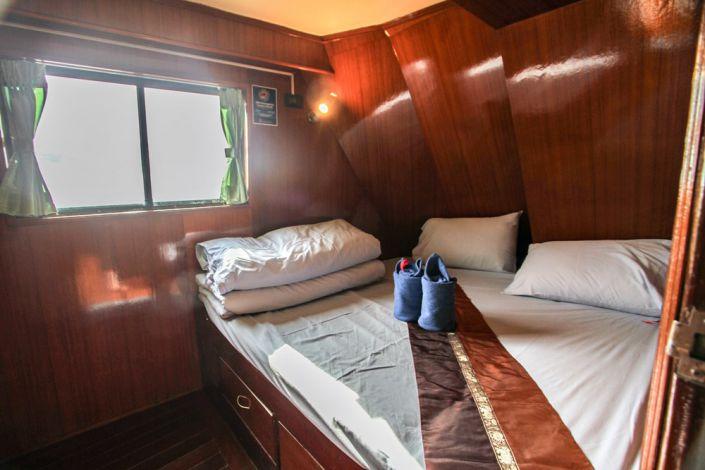 Tauchschiff Manta Queen 1 Doppelbett Kabine