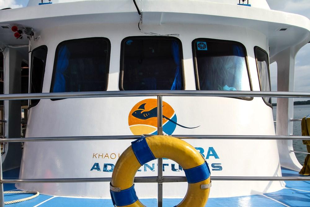 Tauchschiff Manta Queen 1