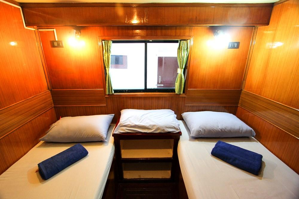 Tauchschiff Manta Queen 1 Zweibettkabine