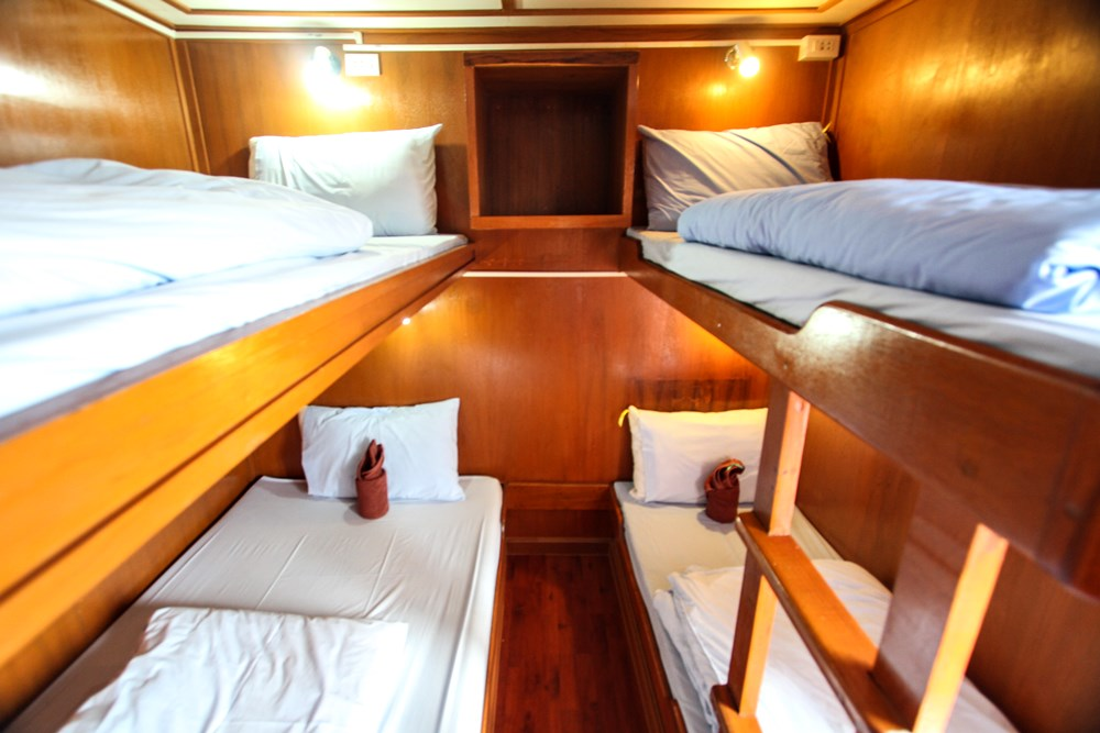 Tauchschiff Manta Queen 3 4-Bett Kabine