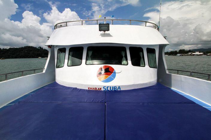 Tauchschiff Manta Queen 3 Sonnendeck