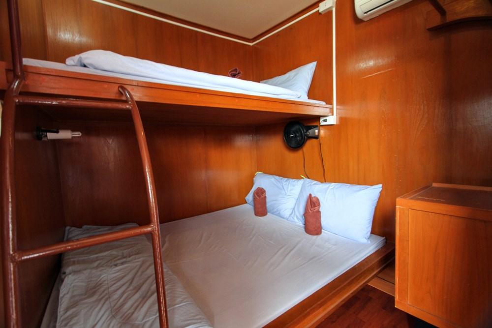 Tauchschiff Manta Queen 3 Doppelkabine