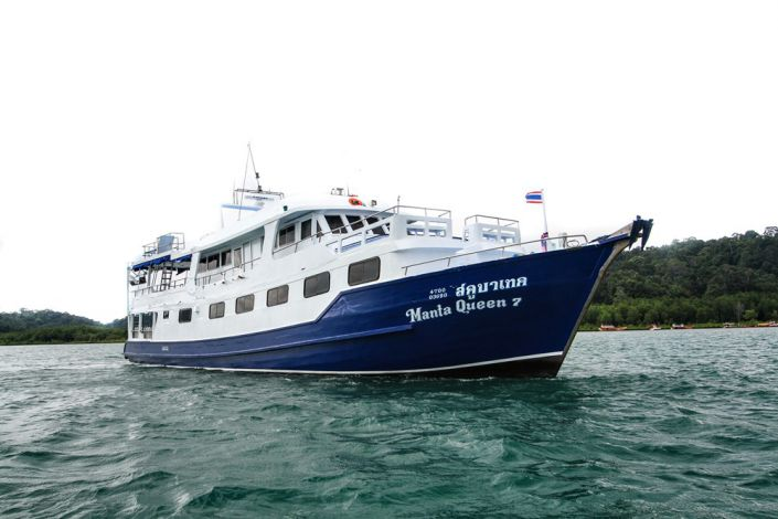 Tauchschiff Manta Queen 7