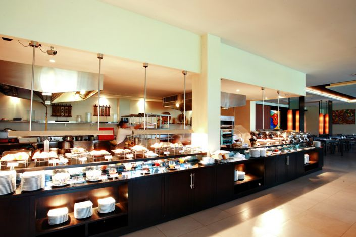 Offene Küche im Ramada Khao Lak Resort