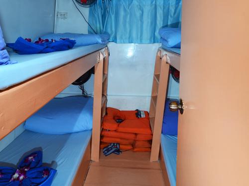 Tauchschiff Manta Queen 7 Kabine Etagenbetten