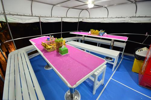 Tauchschiff Manta Queen 6 Aufenthaltsbereich