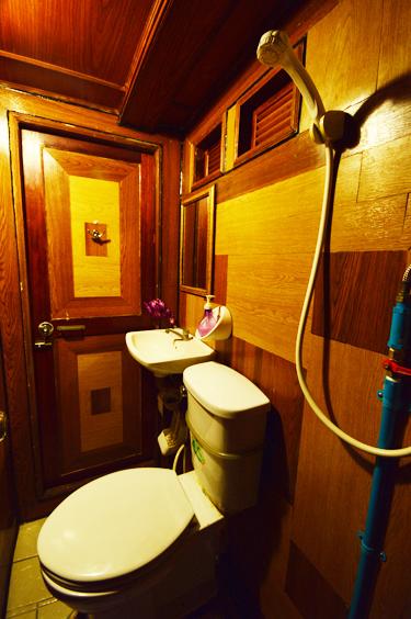 Tauchschiff Manta Queen 6 Badezimmer