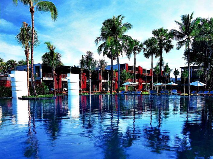Ramada Khao Lak Resort Außenanlagen