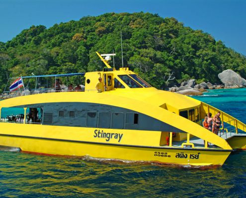 Tagestour Tauchschiff MV Stingray