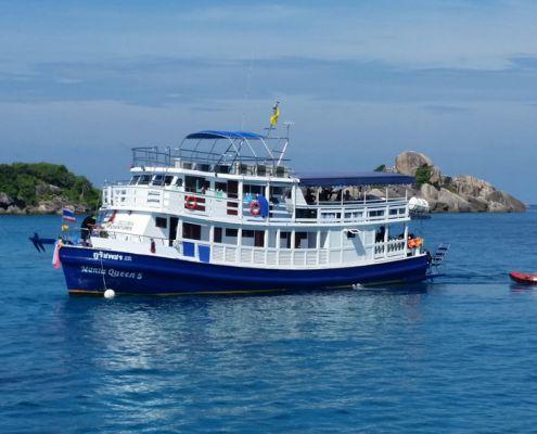 Tauchschiff Manta Queen 5
