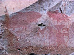 Wandmalereien Pha-Thaem-Nationalpark