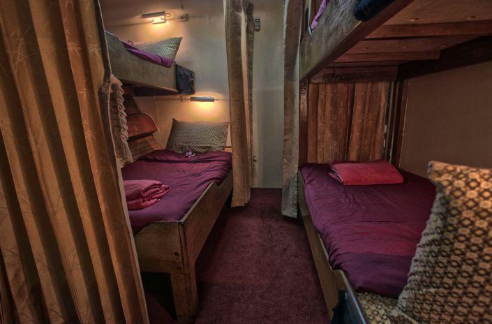 4 Bett Kabine auf dem Tauchschiff The Junk