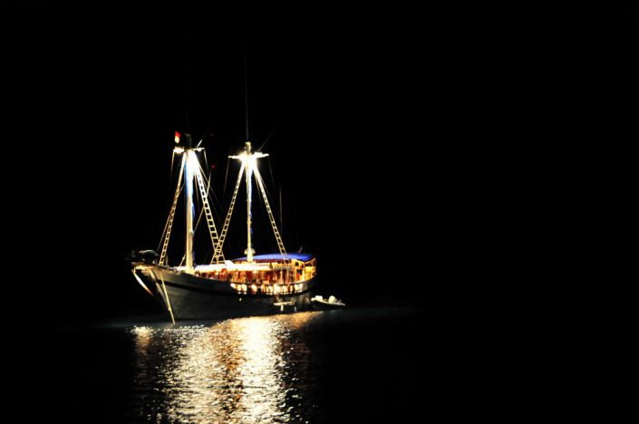 Tauchschiff The Junk vor den Similans