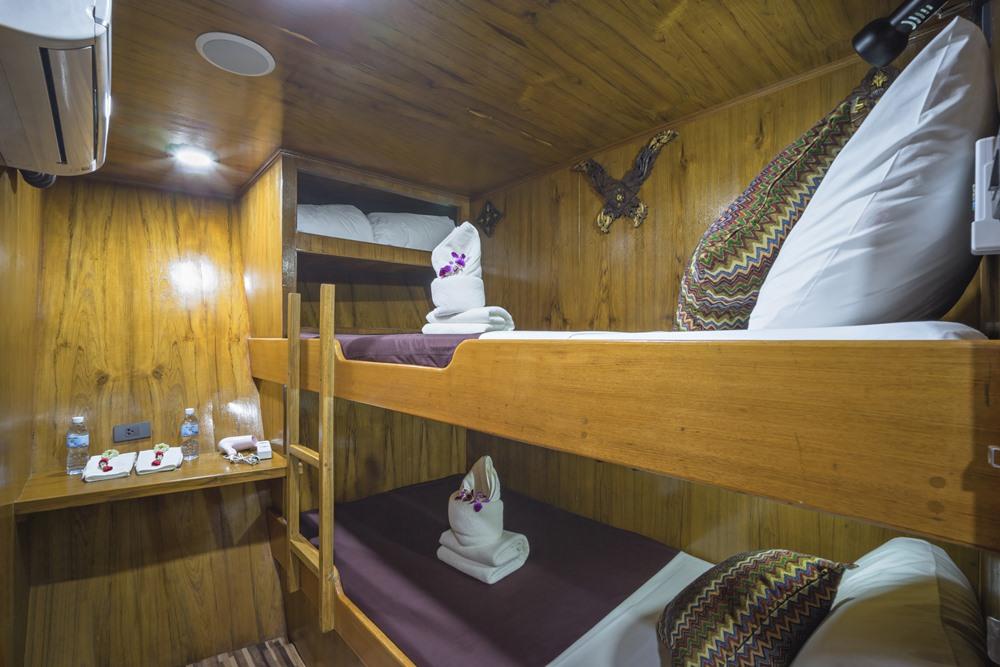 Tauchschiff MV Sawasdee Fasai Budget-Kabine