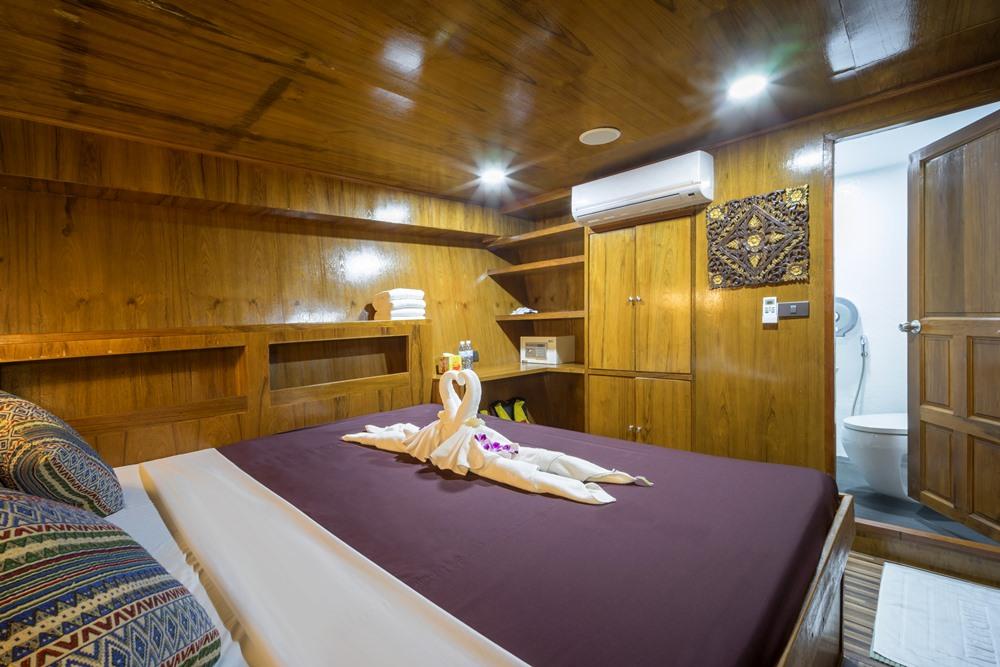 Tauchschiff MV Sawasdee Fasai Standard-Kabine Doppelbett